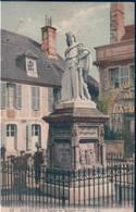 POSTAL FRANCIA - BOURGES - STATUE DE JACQUES COEUR - LL - Bourges