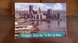 Pittsburgh - Pont Du Golden Gate - La Ville Au Loin - Pittsburgh