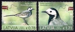LATVIA LETONIA LETTONIE LETTLAND 2019 EUROPA BIRDS 2 Stamps MNH ** - 2019
