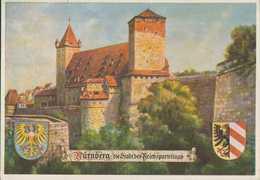 Nürnberg, Stadt Der Reichsparteitage, Postkarte, Drittes Reich - Weltkrieg 1939-45