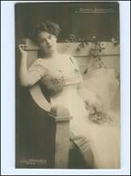 Y12035/ Carlotta Stubenrauch Violinistin Geige Foto AK  Ca.1910 - Ansichtskarten