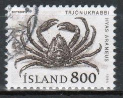 Iceland 1985 Single 8k Stamp From The Marine Life Set. - 1944-... Republic