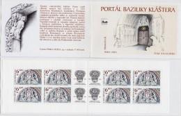 Carnet 2003 De 8 Timbres + 4 Coupons YT C 344 Tympan Basilique Brno / Booklet Michel MH 109 (370) - Tchéquie