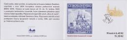 Carnet 2003 De 8 Timbres + 4 Coupons YT C 321 Tradition Timbre Gravé / Booklet Michel MH 105 (346) - Tchéquie