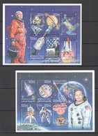 J859 DJIBOUTI SPACE EXPLORATION JOHN GLEN NEIL ARMSTRONG NASA !!! 2KB MNH - Andere