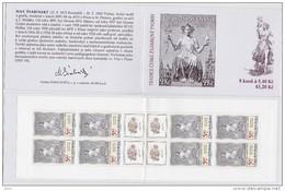 Carnet 2002 De 8 Timbres + 4 Coupons YT C 294 Tradition Timbre Gravé / Booklet Michel MH 102 (312) - Tchéquie