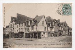 - CPA PONTORSON (50) - Vieille Maison, Grande Rue Et Rue Couesnon 1904 - Collection GERMAIN 3385 - - Pontorson