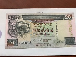 Hong Kong 20 Dollars Banknote 1995 - Hong Kong