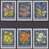 Österreich 1966 Nr.1209 - 1214  ** Postfr. Alpenflora ( 8697) Günstige Versandkosten - 1961-70 Ungebraucht