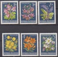 Österreich 1966 Nr.1209 - 1214  ** Postfr. Alpenflora ( 8698) Günstige Versandkosten - 1961-70 Ungebraucht