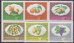 Libia Fruits Set MNH - Libia