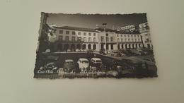 ANTIQUE PHOTO POSTCARD PORTUGAL COVILHA - PRAÇA DO MUNICIPIO CIRCULATED NO STAMP 1961 - Castelo Branco