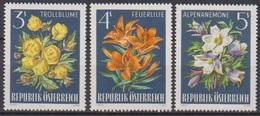 Österreich 1966 Nr.1212 - 1214  ** Postfr. Alpenflora ( 8699) Günstige Versandkosten - 1961-70 Ungebraucht