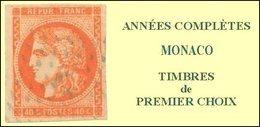 Monaco, Année Complète 1999, N° 2186 à N° 2229** Y Et T - Monaco