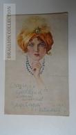 D165422  CPA T.Corbella  - Woman - Femme -Hat - Kisújszállás  Cancel 1921 - Corbella, T.