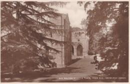 AN26 Sir Walter Scott's Tomb, From S.E., Dryburgh Abbey - Berwickshire