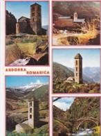 AN26 Andorra Romanica - Multiview Postcard - Andorra