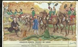 CHROMO LIEBIG . CHARLES - JOSEPH , PRINCE DE LIGNE . LA JEUNESSE . - Liebig