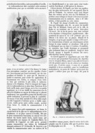 "TELEGRAPHIE Sans FIL "" POSTE POPOFF-DUCRETET "" 1901 - Technical"