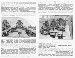 L'USINE à AIR COMPRIME De BILLANCOURT    1901 - Sonstige
