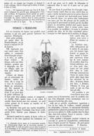 PENDULE à TELEGRAPHE   1901 - Other