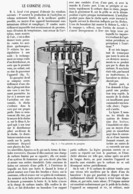 LE GAZOGENE JAVAL    1901 - Technical