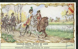 CHROMO LIEBIG . CHARLES - JOSEPH , PRINCE DE LIGNE . L'EDUCATION D'UN FILS . - Liebig