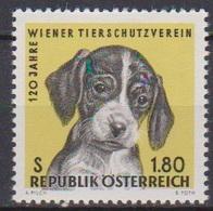 Österreich 1966 Nr.1208  ** Postfr. 120 Jahre Wiener Tierschutzverein ( 8704) Günstige Versandkosten - 1961-70 Ungebraucht