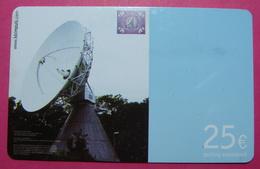 Serie B-47-08..., German Army In Kosovo Prepaid Phone CARD 25 Euro Used Operator KBIMPULS *Satellite* - Kosovo