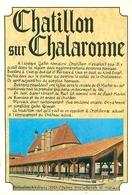 Cpsm  -  Chatillon Sur  Chalaronne    -  Historique          V1195a - Châtillon-sur-Chalaronne