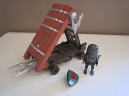PLAYMOBIL Chariot D'assaut Des Chevaliers Du Faucon INCOMPLET (de La Boite 4869) - Playmobil