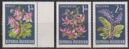 Österreich 1966 Nr.1209 - 1211  ** Postfr. Alpenflora ( 8706) Günstige Versandkosten - 1961-70 Ungebraucht
