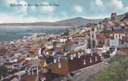 AQ42 Gibraltar, A Bird's Eye View Of The Town - Gibraltar
