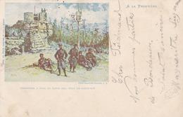 SAINT DIE - VOSGES - (88)  - PEU COURANTE CPA PRÉCURSEUR ANIMÉE DE 1899.... - Saint Die