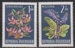Österreich 1966 Nr.1210 - 1211  ** Postfr. Alpenflora ( 8707) Günstige Versandkosten - 1961-70 Ungebraucht