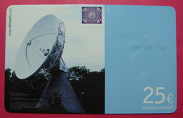 Serie B-48-06..., German Army In Kosovo Prepaid Phone CARD 25 Euro Used Operator KBIMPULS *Satellite* - Kosovo