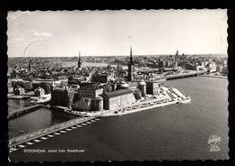 C1652 STOCKHOLM - UTSIKT FRAN STADSHUSET 1962 - Svezia