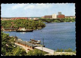 C1653 STOCKHOLM - VASTERBRON OCH MARIEBERG 1966 - Svezia