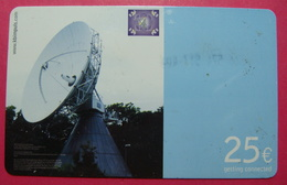 Serie B-48-04...58, German Army In Kosovo Prepaid Phone CARD 25 Euro Used Operator KBIMPULS *Satellite* - Kosovo