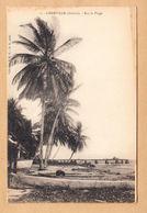 CPA Gabun, Libreville, Sur La Plage, Ungel. - Gabun