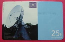 Serie B-48-05...9, German Army In Kosovo Prepaid Phone CARD 25 Euro Used Operator KBIMPULS *Satellite* - Kosovo