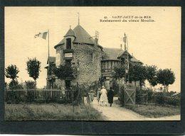 CPA - SAINT JACUT DE LA MER - Restaurant Du Vieux Moulin, Animé - Saint-Jacut-de-la-Mer