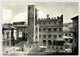 ASCOLI  PICENO    PALAZZO   MERLI   (TARGHETTA)  2  SCAN    (VIAGGIATA) - Ascoli Piceno