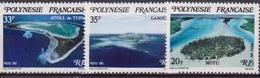 Francese Polinesia 1981 - Isole Natura Landscape MNH - Polinesia Francese