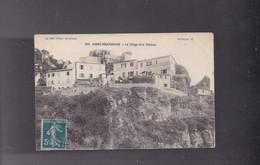 06 ALPES MARITIMES, CABBé -ROQ UEBRUNE  , Le Village Et Le Château - Autres Communes