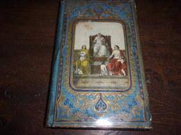 Couverture Romantique - - Dessin Aquarellé 1860 TRAITS EDIFIANTS DE L HISTOIRE ECCLESIASTIQUE - Libros, Revistas, Cómics