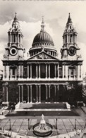 AS60 St. Paul's Cathedral, London - RPPC, Wavy Edges - St. Paul's Cathedral