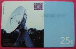 Serie B-58-08...5, German Army In Kosovo Prepaid Phone CARD 25 Euro Used Operator KBIMPULS *Satellite* - Kosovo