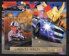 GUINEE  BF 1420 * *  ( Cote 20e ) Automobile  Carroll Shelby - Automobile