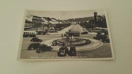 ANTIQUE PHOTO POSTCARD PORTUGAL BRAGA - AV. DOS COMBATENTES DA GRANDE GUERRA CIRCULATED NO STAMP 1958 - Braga